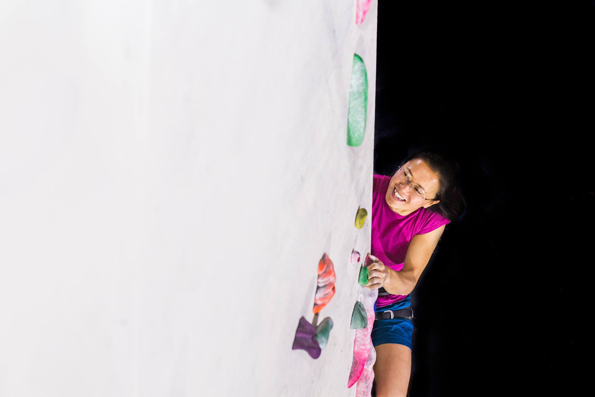 This Girl Can Climbing , photographed by Jessie Leong