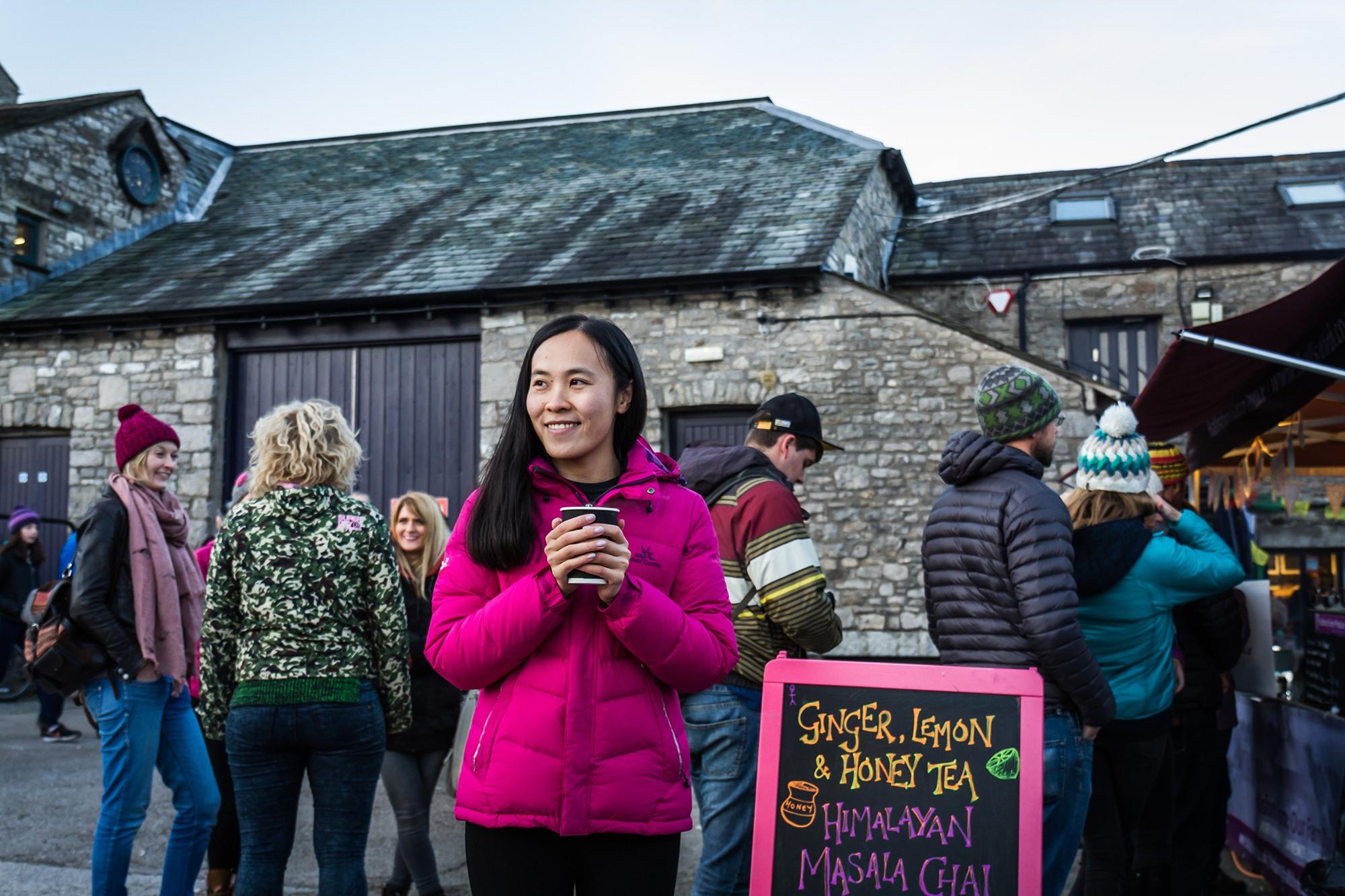 Amanda Luicheng at Kendal Mountain Festival