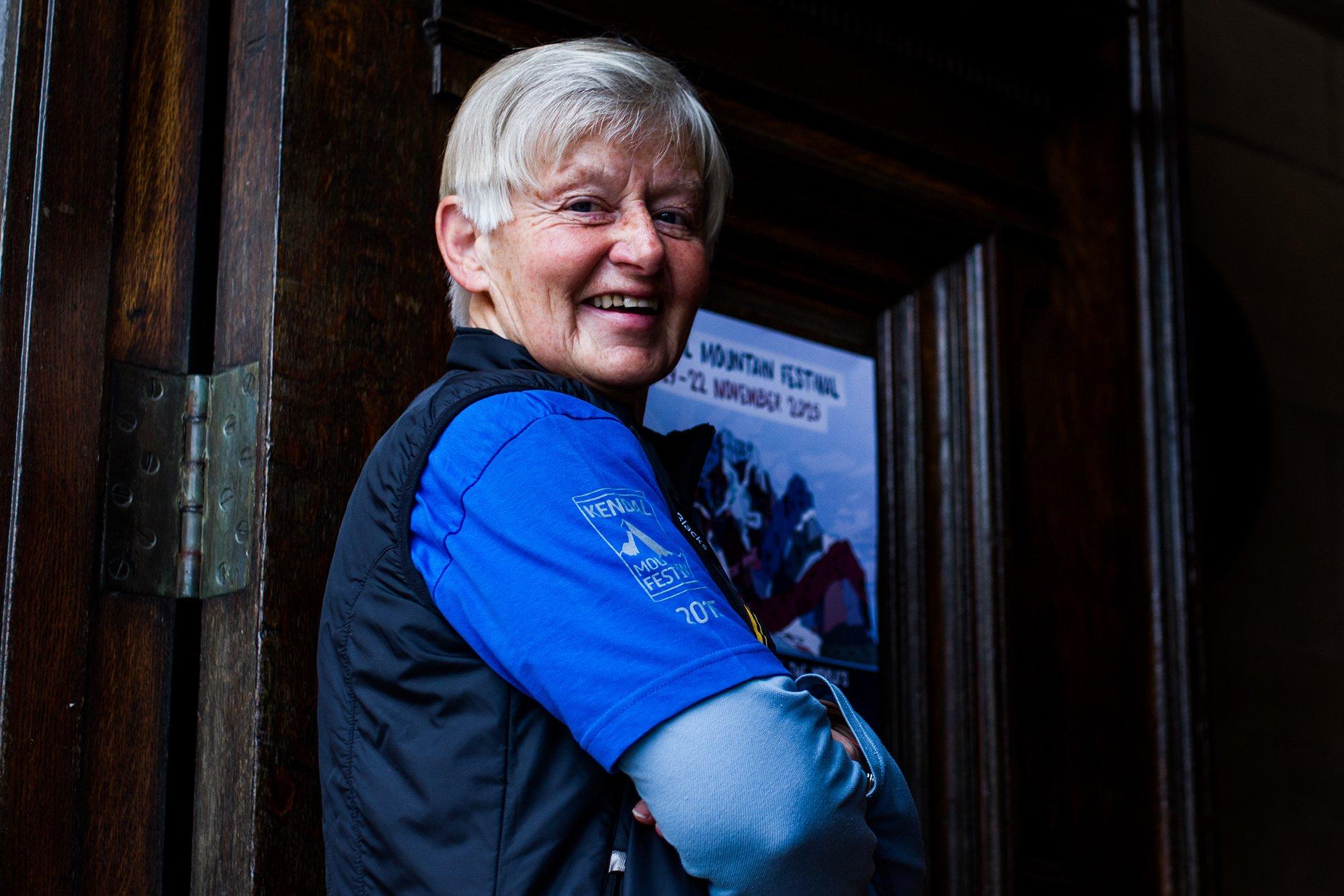 Jean Festival Volunteer at Kendal Mountain Festival