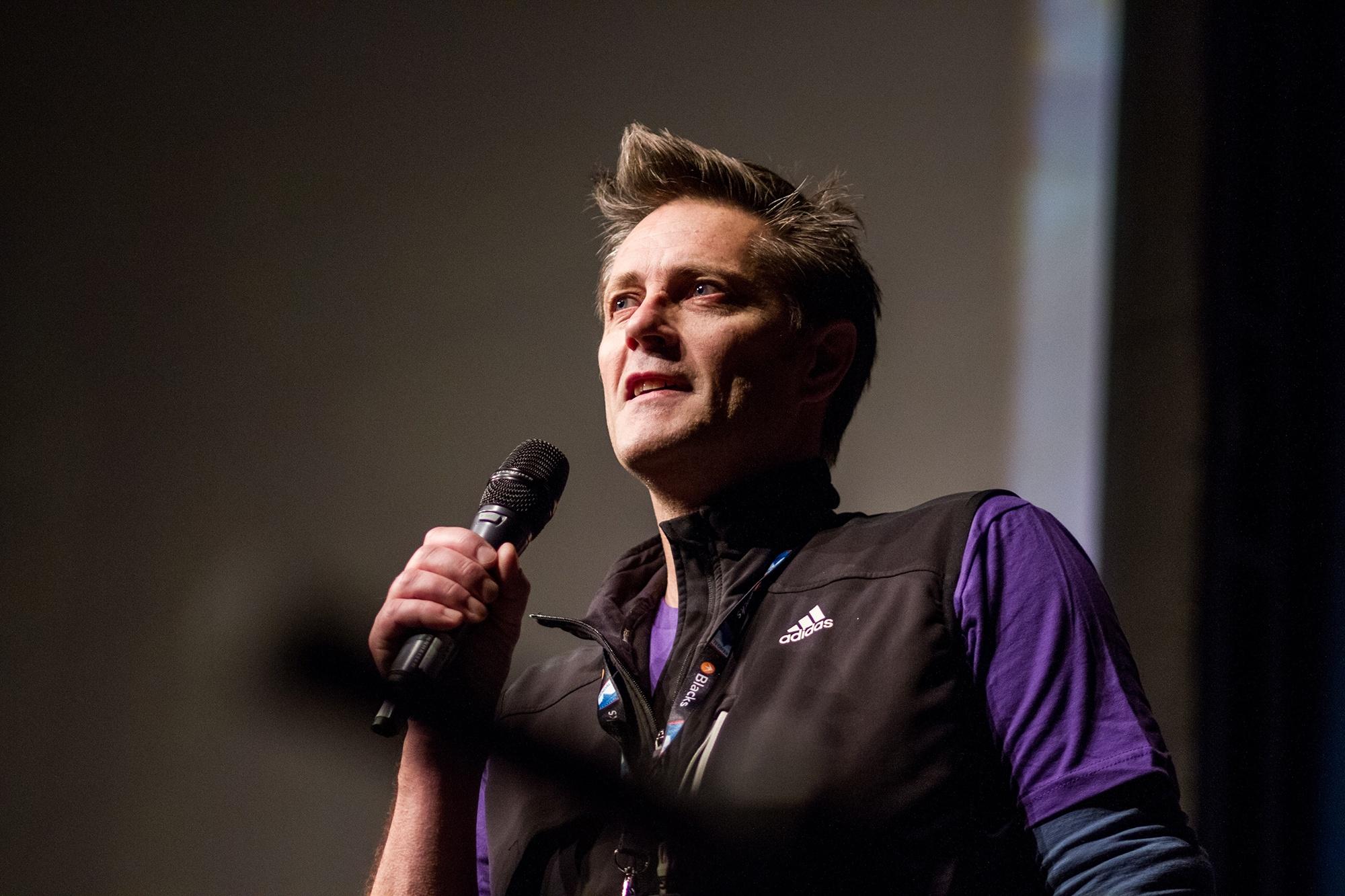 Steve Scott at Kendal Mountain Festival