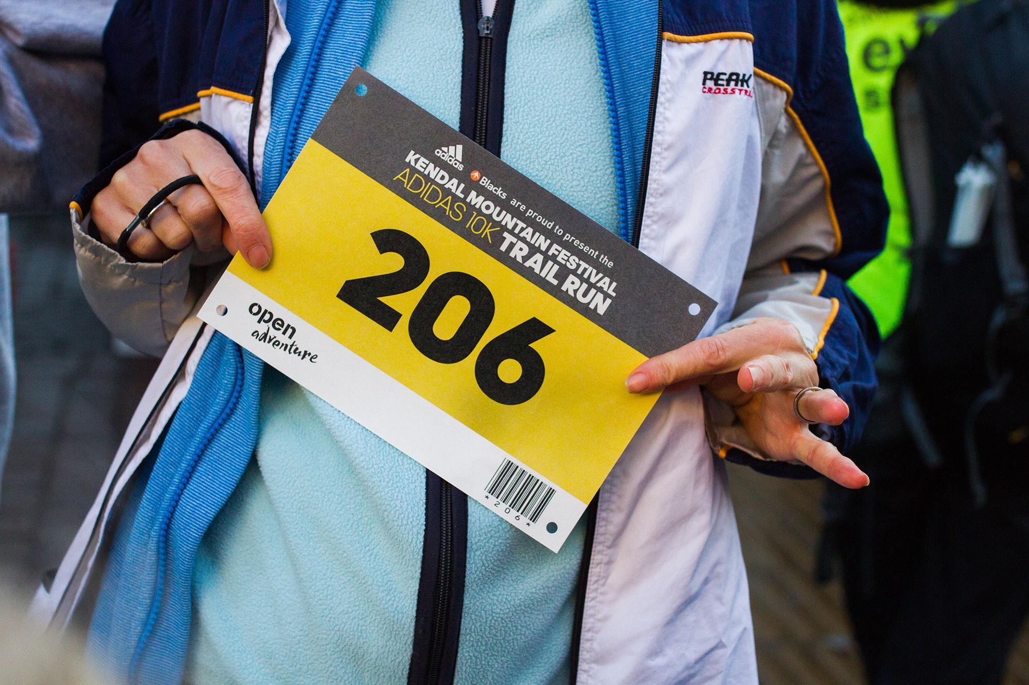 Adidas 10K trail run at Kendal Mountain Festival