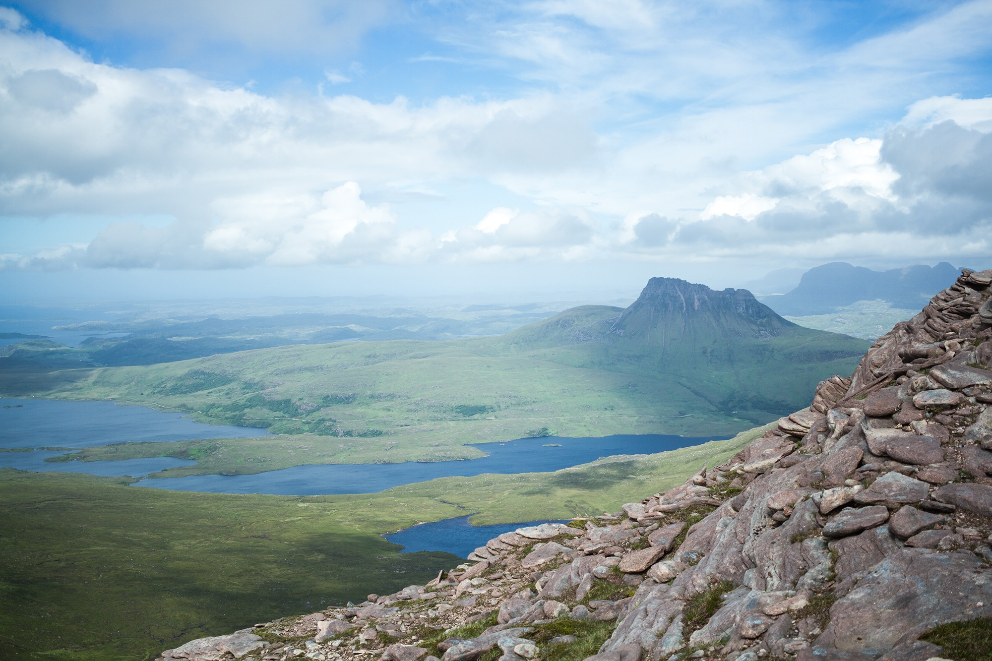 Photograph of Assynt and Sutherland shot by Jessie Leong