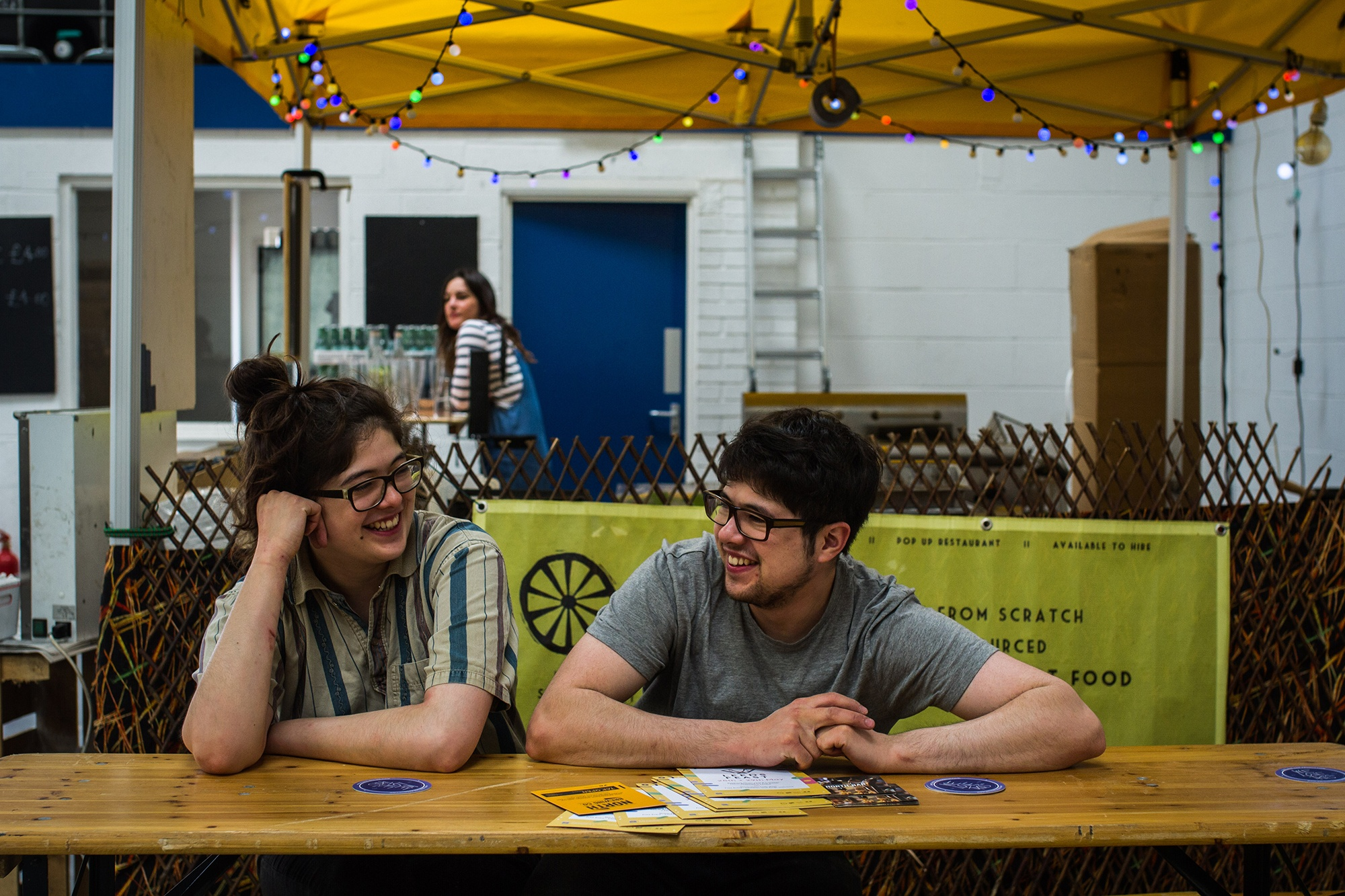Street Food Vendors at Leeds Indie Food Festival. Photography by Jessie Leong