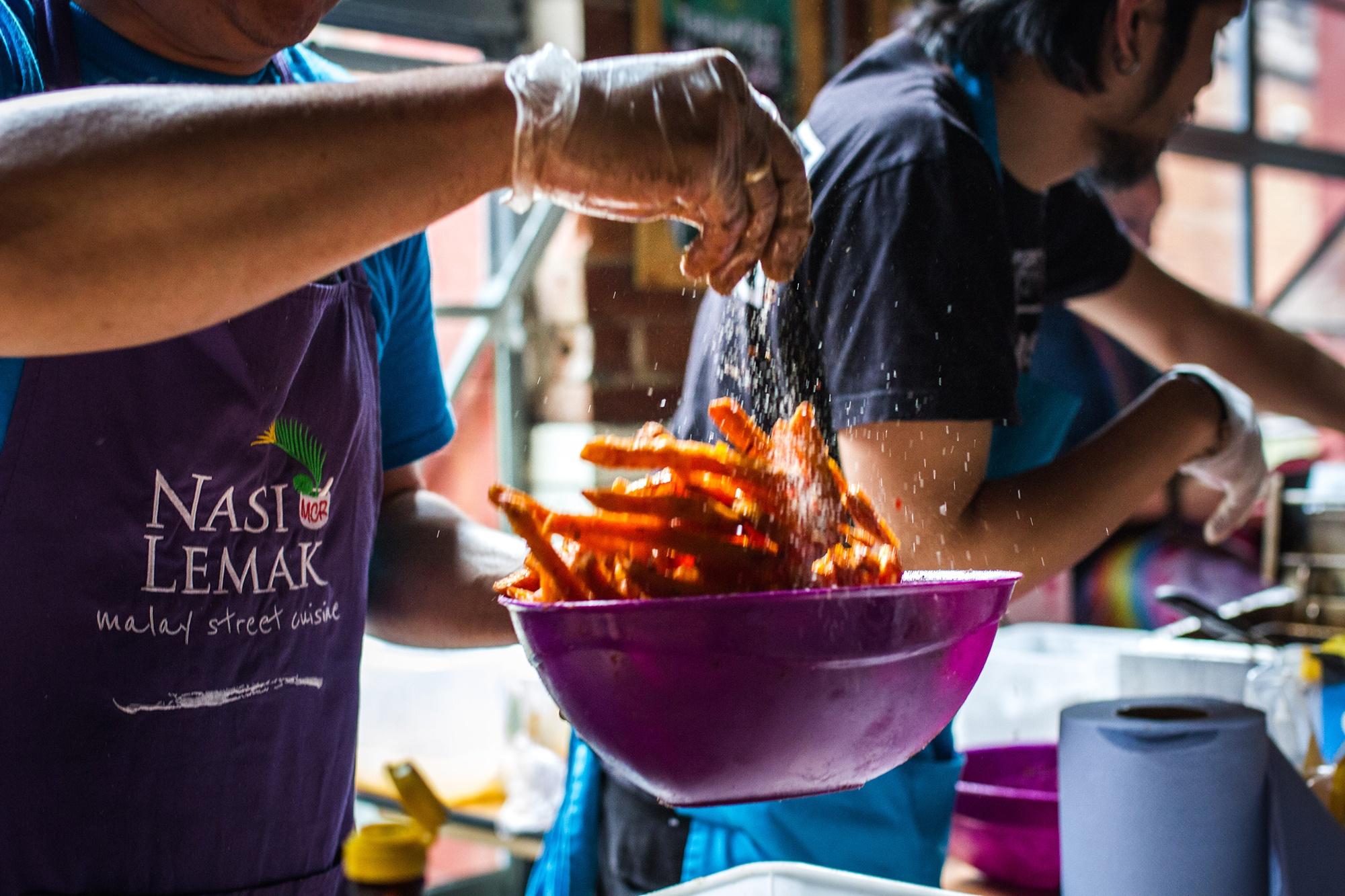 Nasi Lemak, street food vendor at Leeds Indie Food Festival