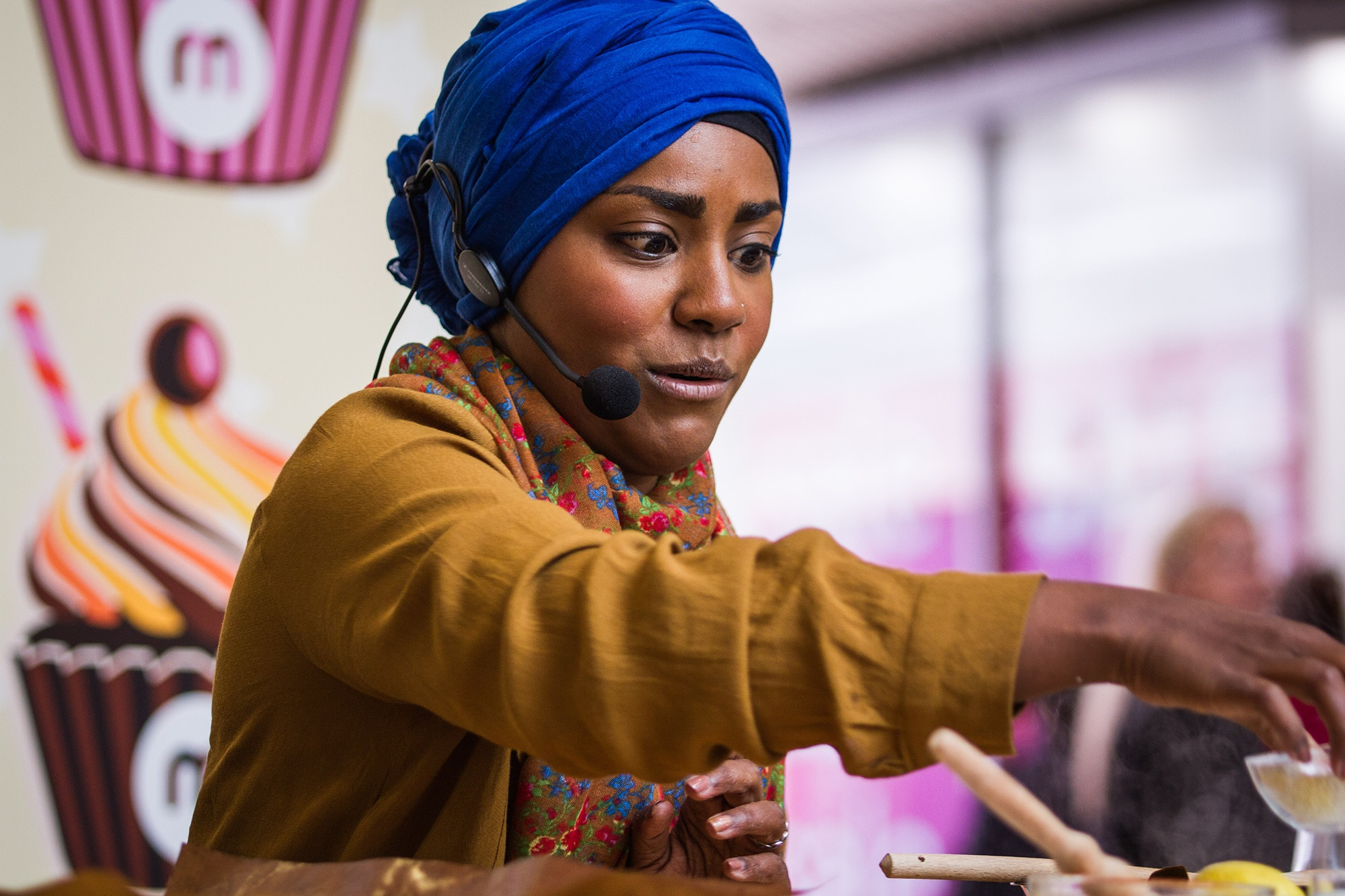 Naidya Hussein, winner of Great British Bake off photographed by Jessie Leong
